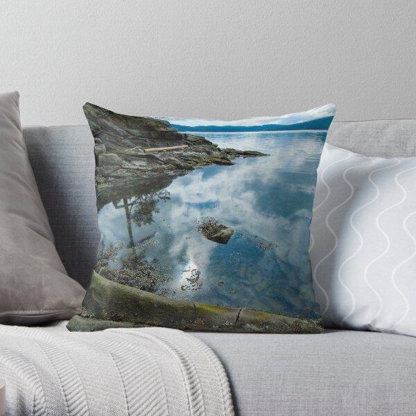 St.John's Point Bay Throw Pillow