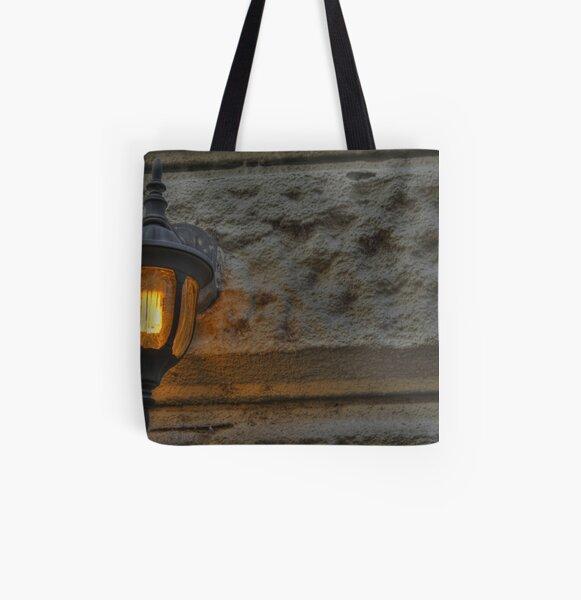 Orange Light All Over Print Tote Bag