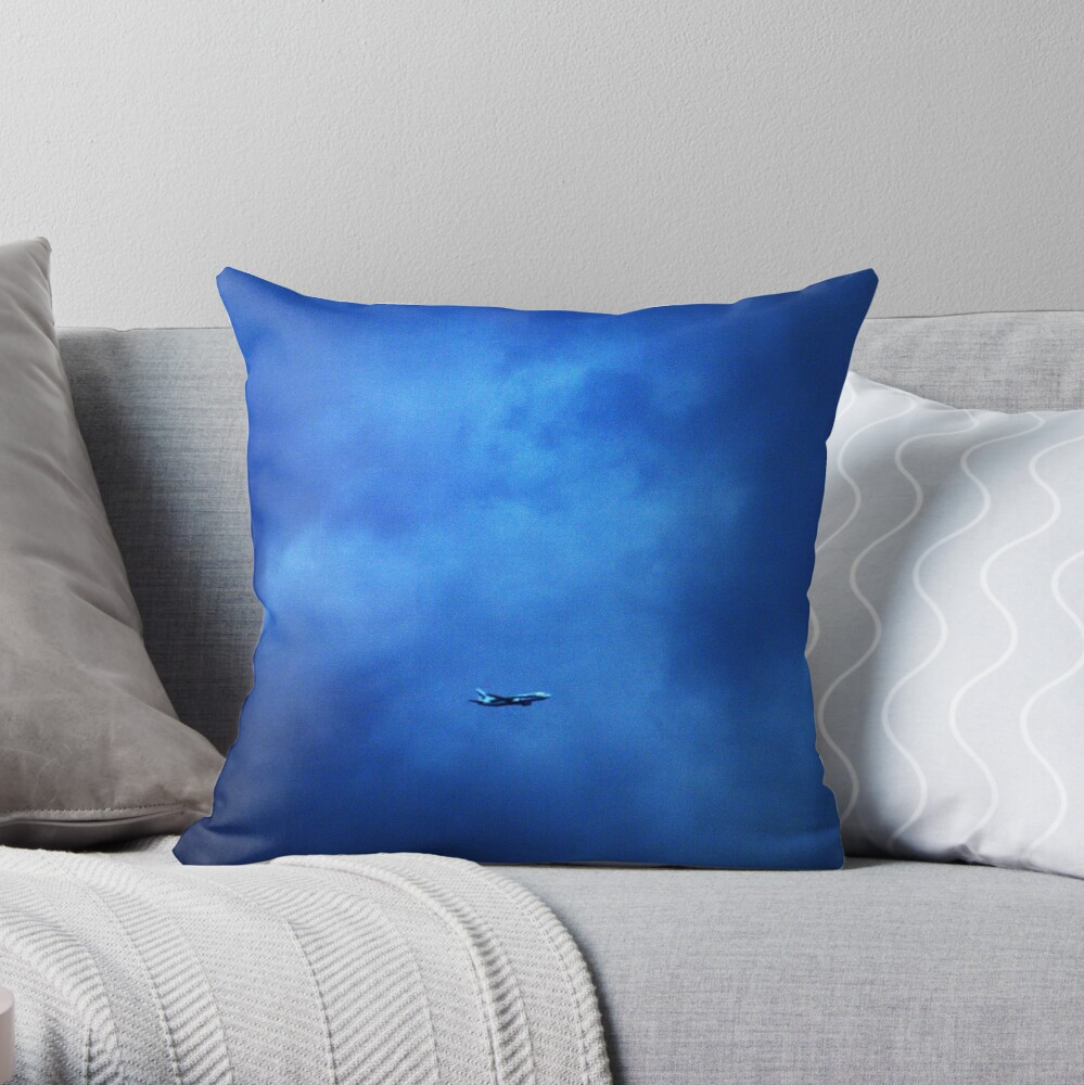 Departing Terra Forever Throw Pillow