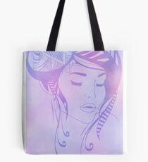 Zentangle girl Tote Bag