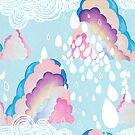 Cotton candy clouds by bound-textiles