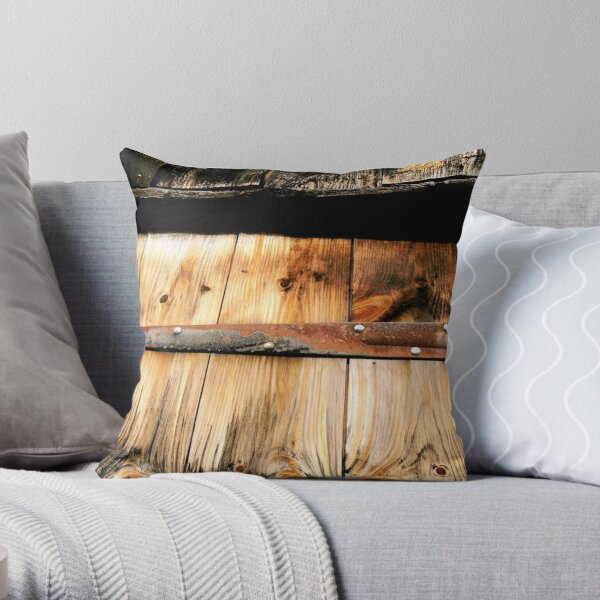 Old Secrets Throw Pillow