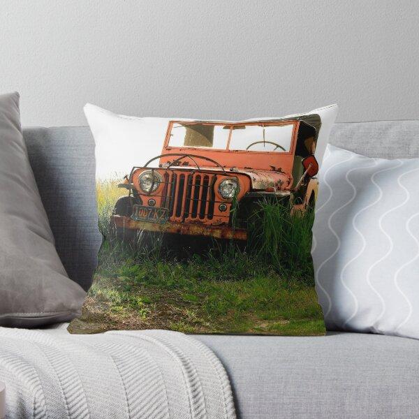 Auto Retirement Throw Pillow