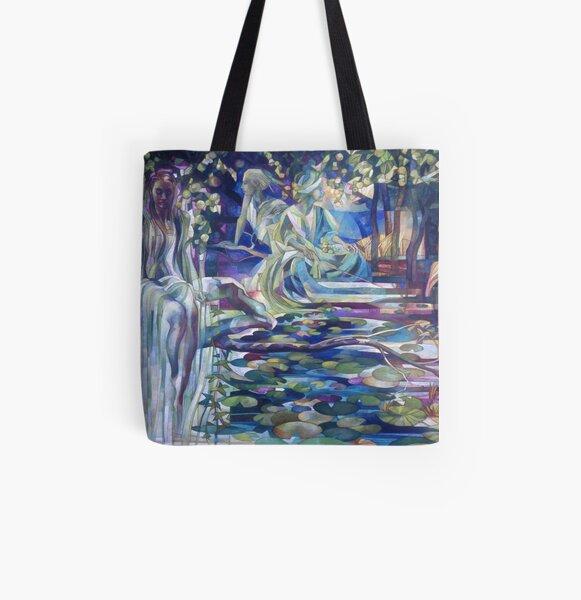 naiades All Over Print Tote Bag