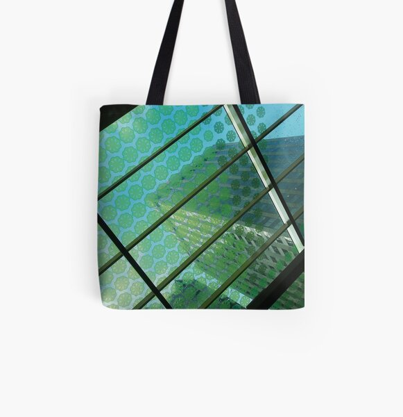 High Rise All Over Print Tote Bag