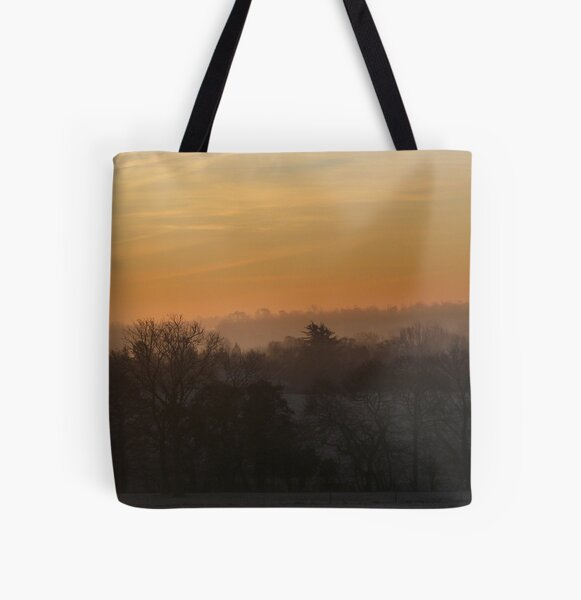 Valley Dawn All Over Print Tote Bag