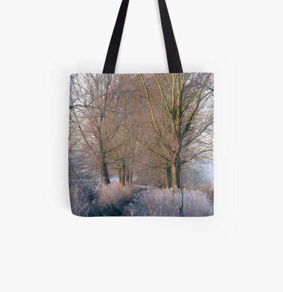 Frost Stream All Over Print Tote Bag