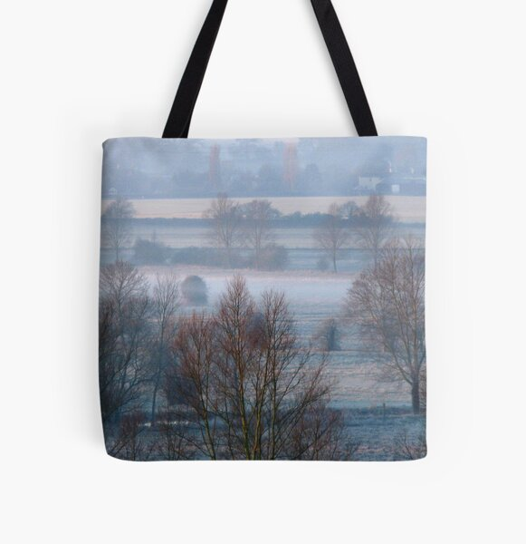 Valley Frost All Over Print Tote Bag