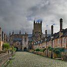 Vicar's Close, Wells by Ann Garrett