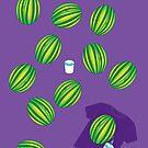Watermelon, hardy har har by Matt Your A Creeper