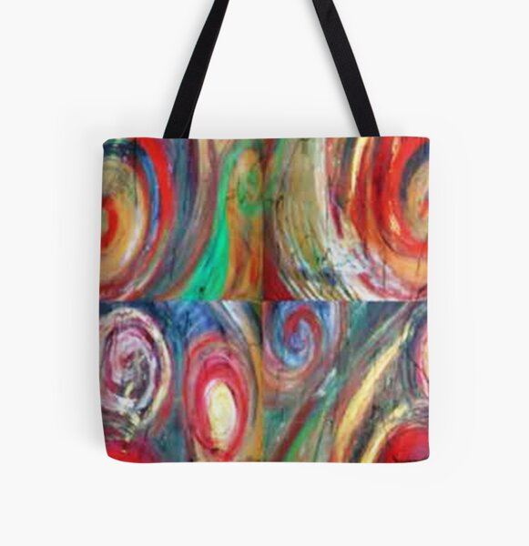 Creation 2 by Gretchen M. Smith All Over Print Tote Bag