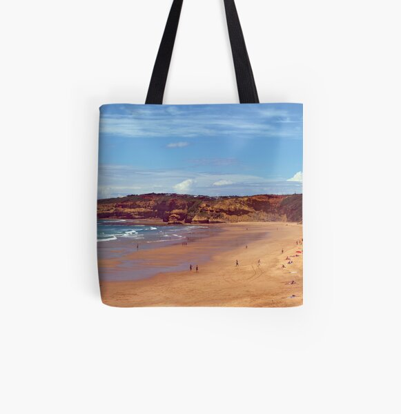 Jan Juc beach. Great Ocean Road, Australia All Over Print Tote Bag