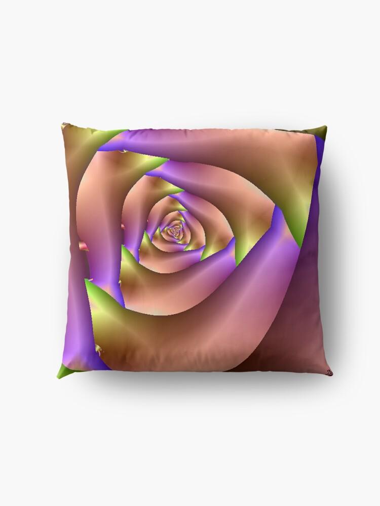Alternate view of The Rose Floor Pillow