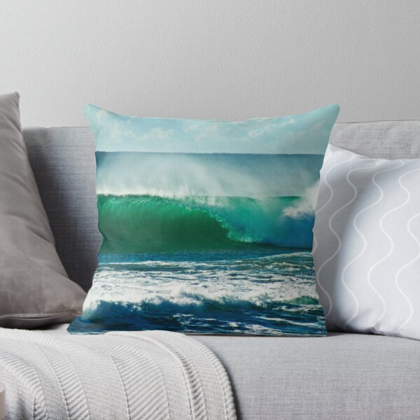 Beach Break Throw Pillow