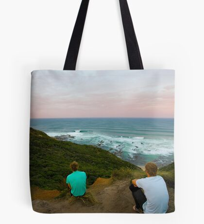 Surf Check Tote Bag
