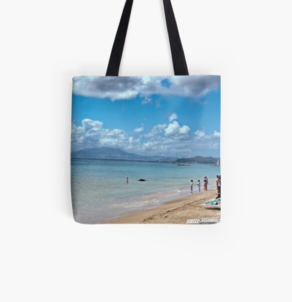 Pinney's Beach All Over Print Tote Bag