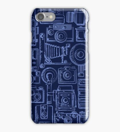 Paparazzi Blue iPhone Case/Skin