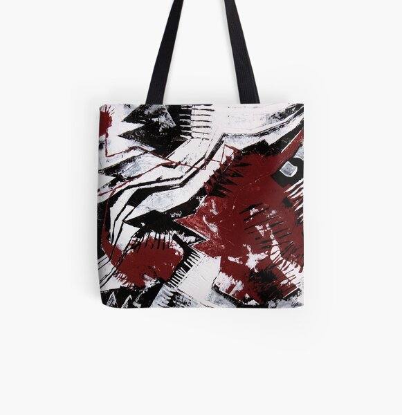 Watch out - the monster is loose! All Over Print Tote Bag