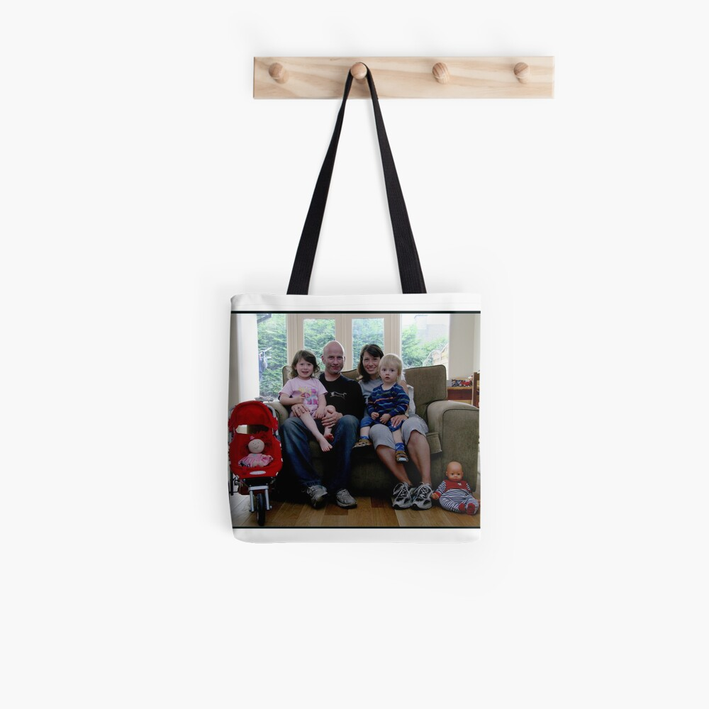Kirsten, Mike and the Kids Tote Bag