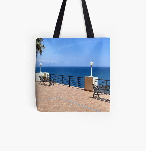 Nice View All Over Print Tote Bag