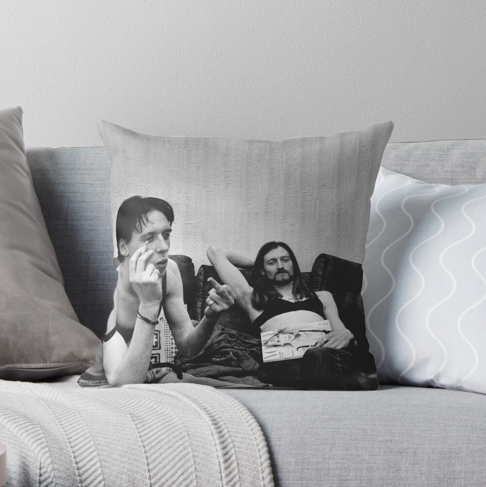 Born and Bra'd in Dublin Throw Pillow