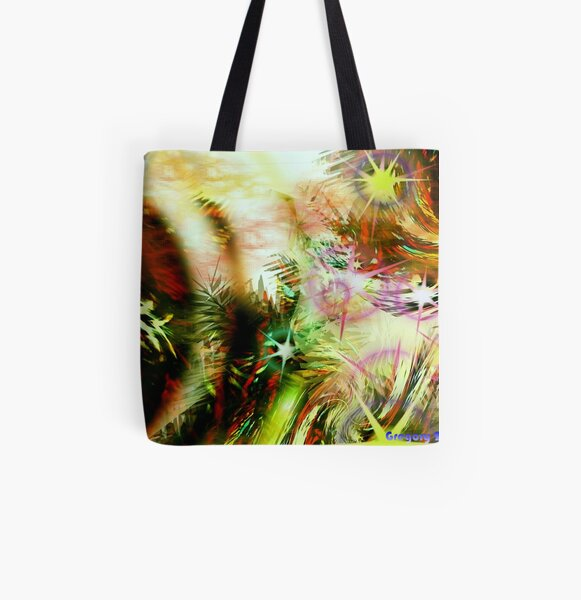 Garden of Three Suns All Over Print Tote Bag