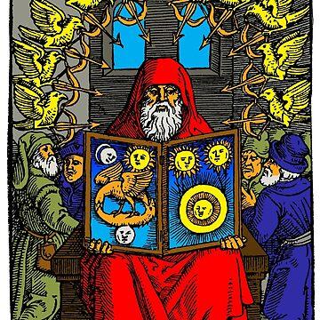 Hermes Trismegistus (Begründer der Hermetik) von monsterplanet