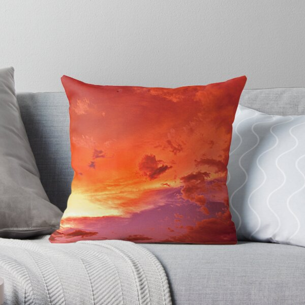 Evening moods Throw Pillow