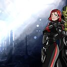 Shepard and Krios by lomcia