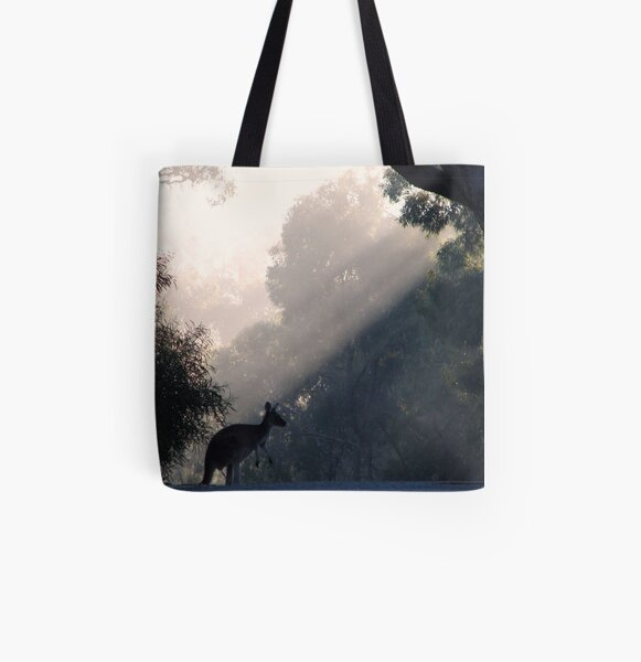 Roo'd Thru Rays  All Over Print Tote Bag