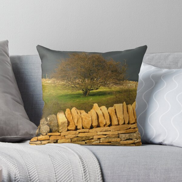Cotswold Tree Throw Pillow