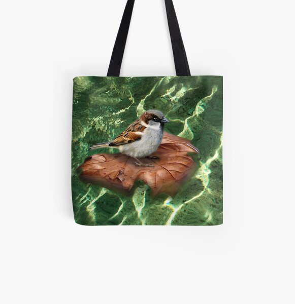 SparrowOnAQuest All Over Print Tote Bag