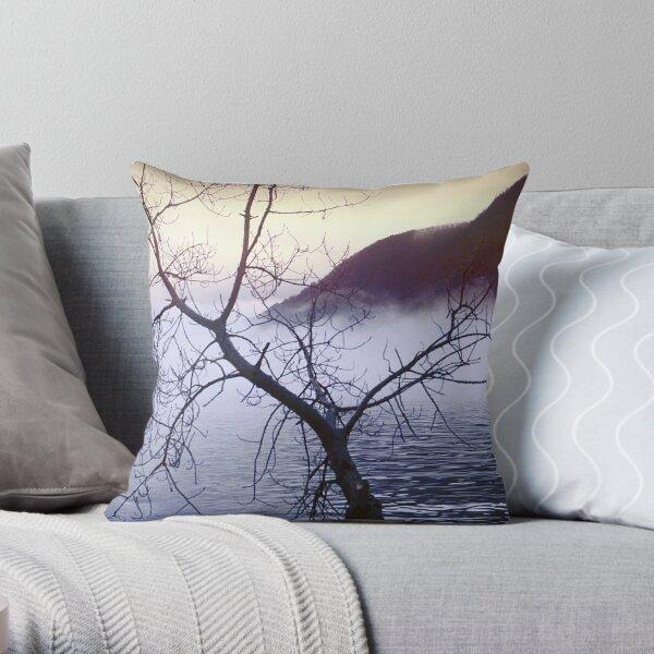 View of Storm King Mountain Throw Pillow