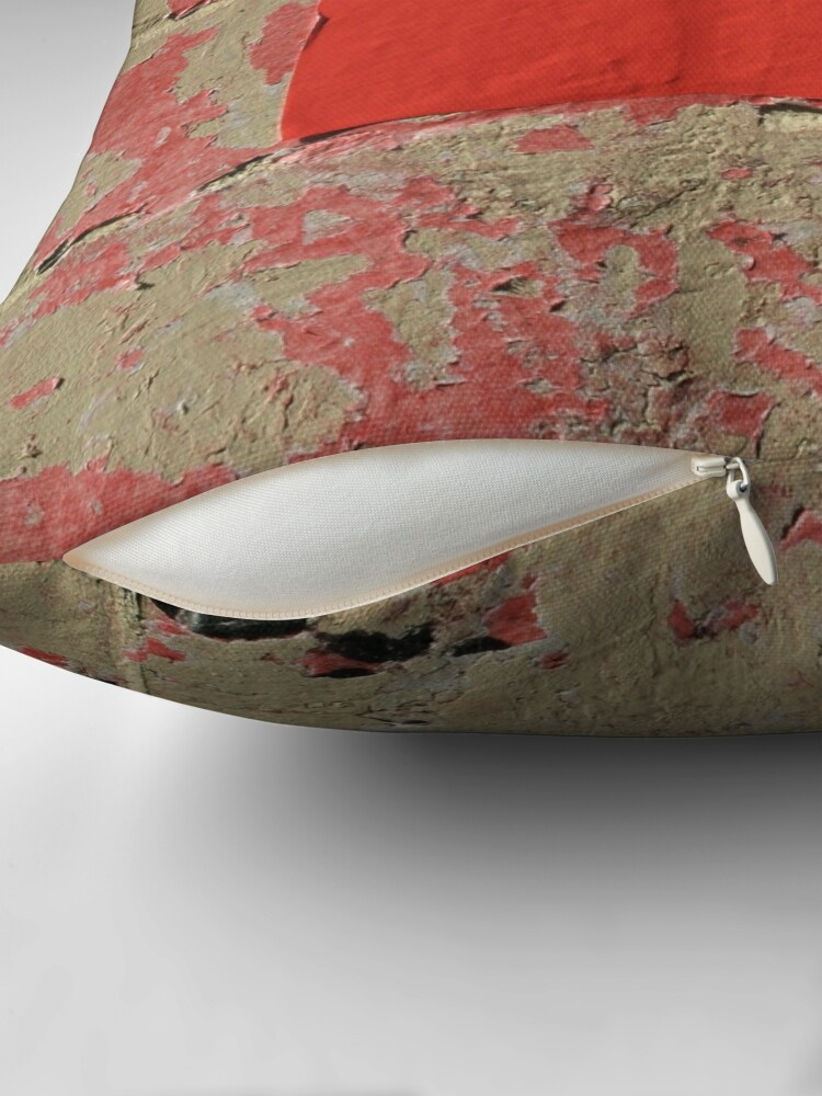 Alternate view of Poster Remnants Chinatown Throw Pillow