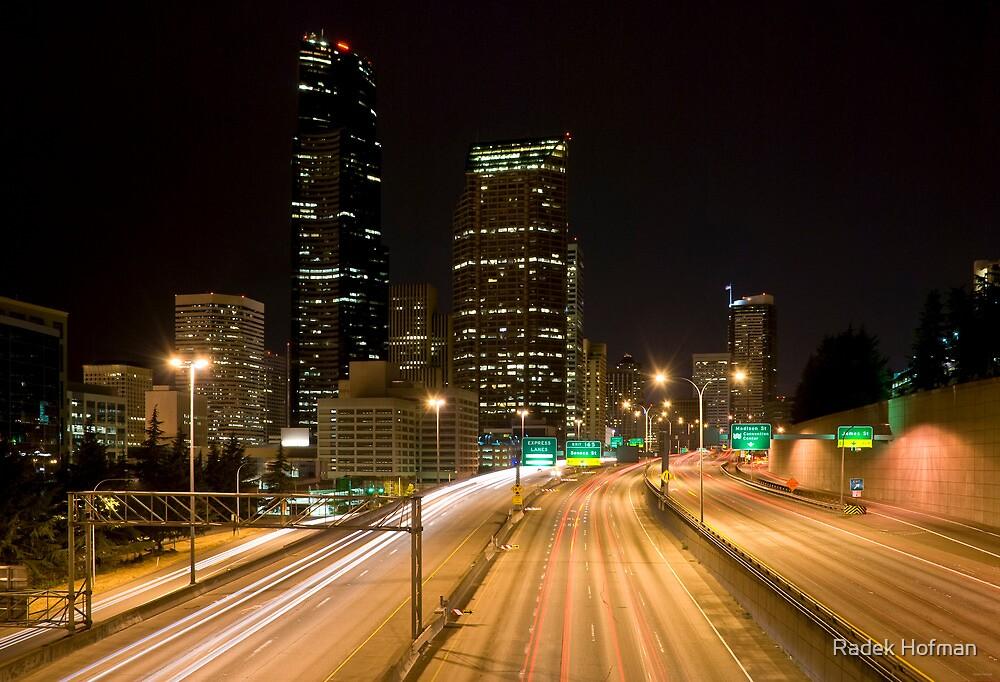 Downtown Seattle by Radek Hofman