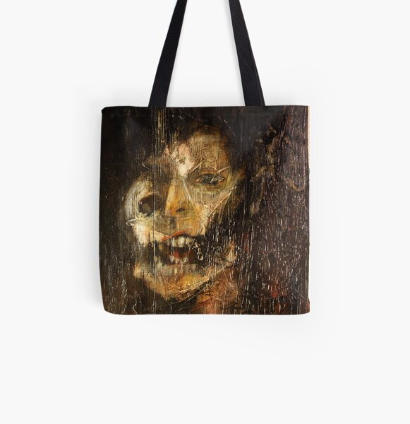 portrait of the king All Over Print Tote Bag