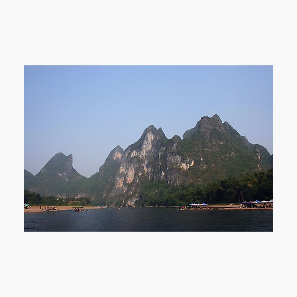 Karst mountains of Yangshuo Photographic Print
