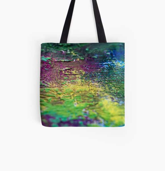 Distorted Luxury All Over Print Tote Bag