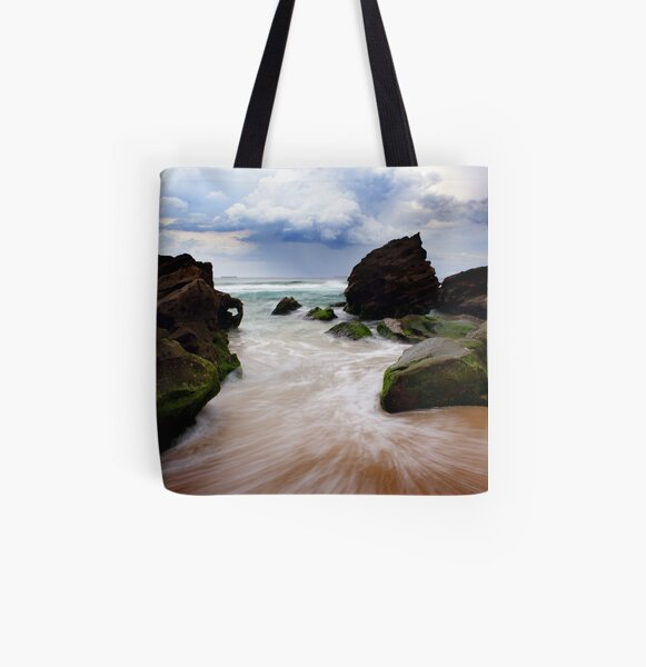 Stormy Weather All Over Print Tote Bag