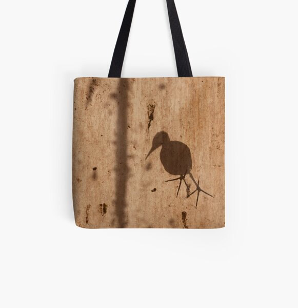 Bird on the Roof All Over Print Tote Bag