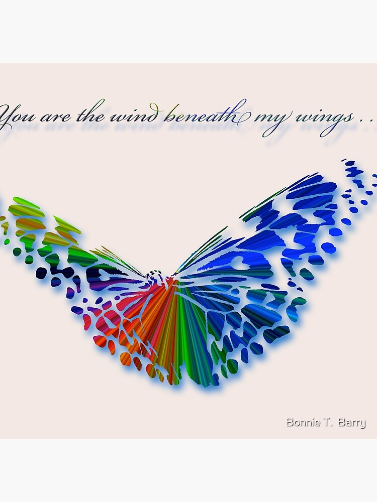 Wind Beneath my Wings . . . by Miracles
