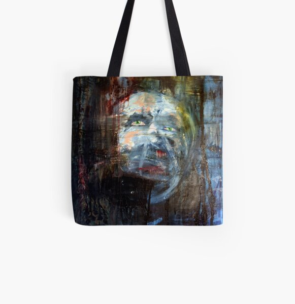 portrait of x All Over Print Tote Bag