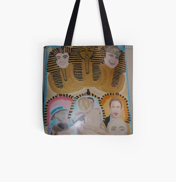Princess Diana  and Dodi in Love Series (3/3) : Celebrations All Over Print Tote Bag