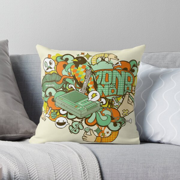 Country Club Nouveau Throw Pillow