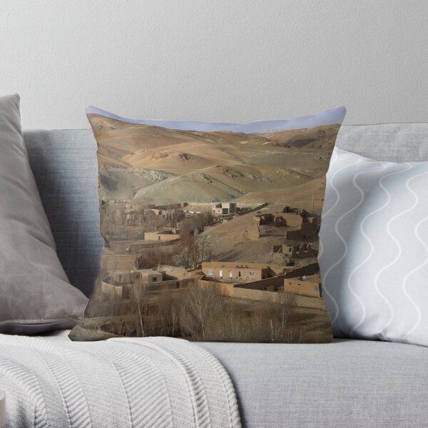 The Walls Throw Pillow
