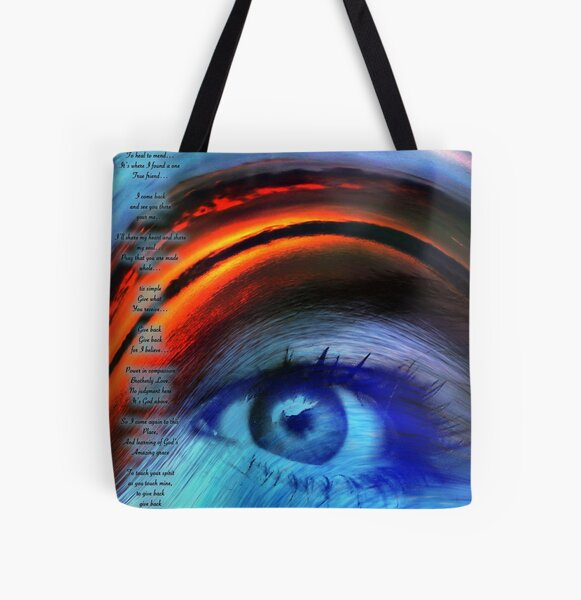 I SEE YOU ... All Over Print Tote Bag