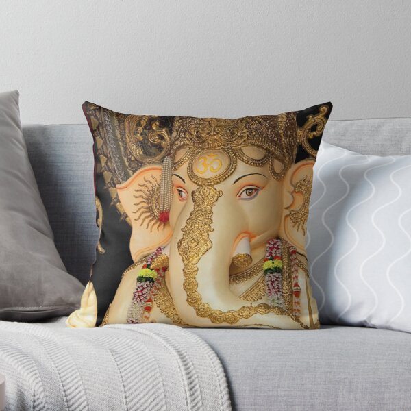 Lord Ganesh #2 Throw Pillow