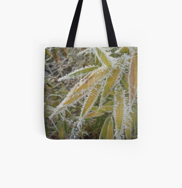 winter bamboo All Over Print Tote Bag