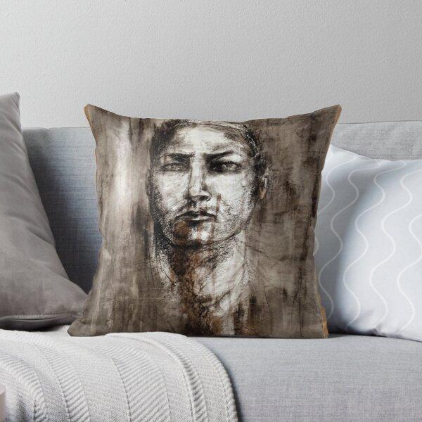 portrait of the artist Throw Pillow