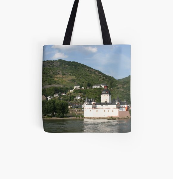 Burg Pfalz All Over Print Tote Bag